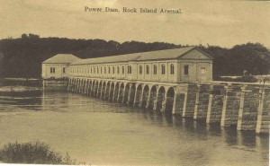 Arsenal Power Dam from S. Side