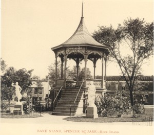 Spencer Square Bandstand